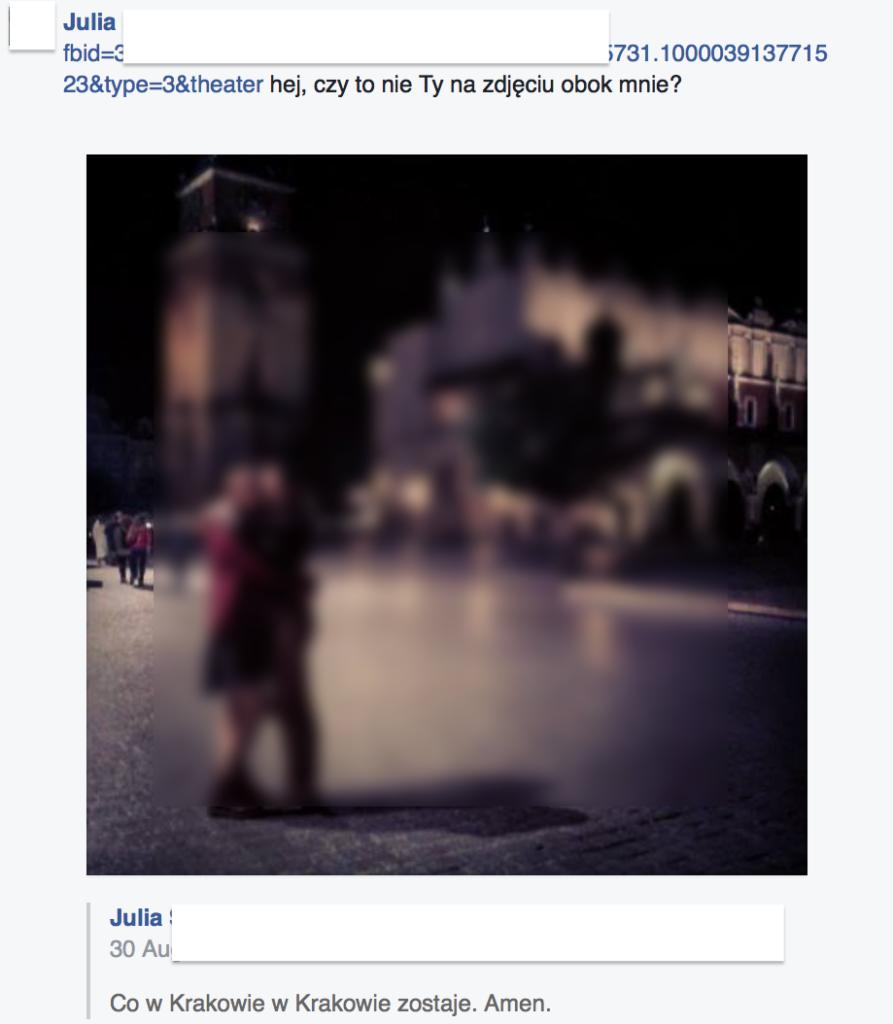 Skrypt wyłudzający dostęp do Facebooka